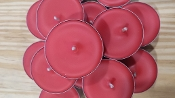 75 pack UNSCENTED with COLOR TEALIGHTS